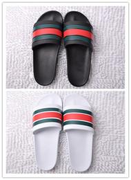 Männer Frauen huaraches Sandalen Designer Schuhe Luxus Rutsche Sommer Mode Breite Flache Rutschig Mit Dicke designer Sandalen Slipper Flip Flop von Fabrikanten