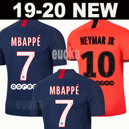 Argentina 19 20 AIR PSG JORDAN camiseta de fútbol 2019 2020 camisa Paris Saint Germain NEYMAR JR MBAPPE soccer jerseys camisa cavani Survetement futebol kit CHAMPIONS camisa de futebol cheap paris saint germain soccer jersey Suministro