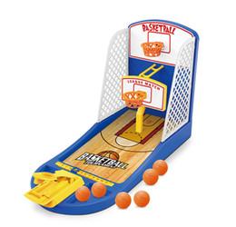 2019 giochi di pallacanestro giocattoli Mini pallacanestro giocattolo dito macchina da tiro giochi per bambini bambini divertente gioco da tavolo gioco giocattoli di interesse per i bambini regali del ragazzo sconti giochi di pallacanestro giocattoli