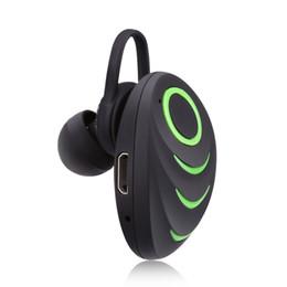 Односторонняя гарнитура Bluetooth, маленький и симпатичный внешний вид, варианты зеленого, черного, синего и красного цветов, чистый и удобный для ношения звук от Поставщики зеленая гарнитура
