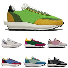 2020 golf professionale Nike Sacai LDV Waffle  2019 Classic Original WAVE Prophecy 7 Professional Mens Scarpe Outdoor Air Cushioning Sport sneakers Weightlifting Size 40-45 golf professionale economici