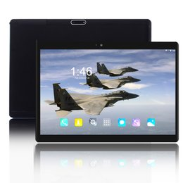 2019 android tablet pc sim karte 2019 neuer 10 Zoll 4G LTE Smartphone Tablette PC 1920 * 1200 HD IPS Android 7.0 Viererkabel-Kern Doppel-SIM Karte WIFI Bluetooth Tabletten 10 10.1 günstig android tablet pc sim karte