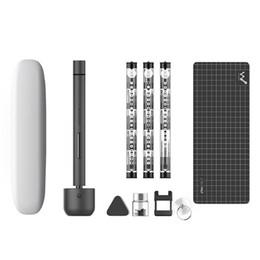 Para Wowstick 1F Pro Mini destornillador eléctrico Recargable Destornillador eléctrico Destornillador Kit de controlador Luz LED Batería de litio Funciona desde fabricantes