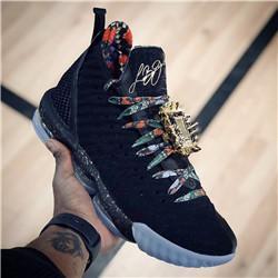 New Lebron 16 Watch The Throne Мужская Спортивная Обувь LBJ KC EP для Good09 качество Черный Металлик Золотая Роза Мороз Джеймс 16 7-12 от Поставщики морозные туфли