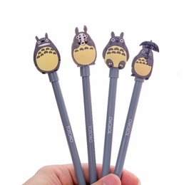 Nouveau 0.5mm Mignon Kawaii de Bande Dessinée Totoro Gel stylos Creative Papeterie Coréenne Pour Enfants Enfants Étudiants Bureau Fournitures Scolaires Marerials ? partir de fabricateur