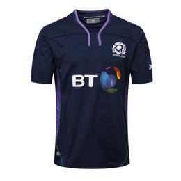 Wholesale NUEVO RUGBY camiseta de calidad superior de Tailandia RWC NRL Super Rugby Escocia Camisetas Envío gratis S XL