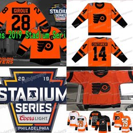 7a8096598 Claude Giroux 2019 Stadium Series Philadelphia Flyers Ivan Provorov Travis  Konecny Wayne Simmonds Jakub Voracek Shayne Gostisbehere Jersey