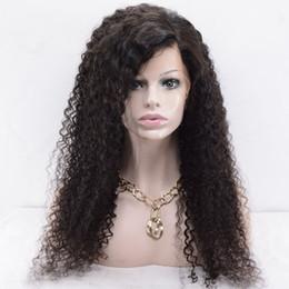 Tutkalsız Dantel Ön Virgin İnsan Saç Peruk Afro Kinky Kıvırcık Stil Ücretsiz Bölüm Orta Bölüm 10-20 inç Afro-amerikan Ön Dantel Kıvırcık Peruk cheap african afro wig human hair nereden afrika afrika peruk insan saçı tedarikçiler
