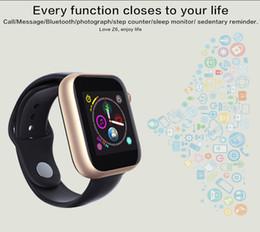 дешевые телевизоры Скидка Новейшие часы Z6 Smartwatch для Apple Iphone Smart Watch Bluetooth 3.0 Часы с камерой Поддерживает SIM-карту TF для смартфона Android бесплатно DHL