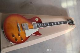 melhor guitarra elétrica de mogno Desconto Venda por atacado - melhor guitarra de mogno de fábrica 2014 quente vendendo cor do sol guitarra elétrica guitarra padrão