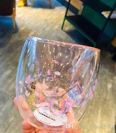 2019 tazza di fiori Limited Starbucks 2009 Cherry Blossom Full Cat Cup Cat Artw Pink Cherry Sprout Cat Cup INS Fire tazza di fiori economici