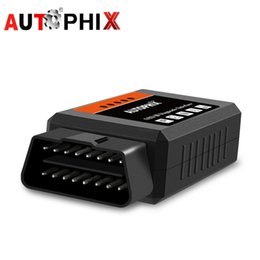 2019 elm327 v1.5 obd2 OBD2 ELM327 v1.5 Pic18f25k80 ELM327 Bluetooth OBD 2 v1.5 Lector de códigos Bluetooth Herramienta de diagnóstico del coche Escáner ODB2 Autophix Om100 elm327 v1.5 obd2 baratos