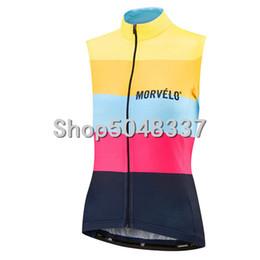 bicicletas de pista de ciclismo Rebajas Morvelo nueva bicicleta ms chaleco ciclismo chaleco sin mangas carretera MTB bicicleta jersey ciclismo ropa ropa ciclismo hombre
