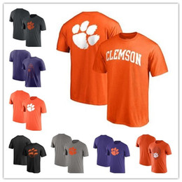 Clemson Tigers T-Shirt 2018 Fanatics Primetime T-Shirt 4 color Purple grey  black white free shipping size S-3XL 9753c0156