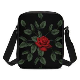 d3c3d66cb6 rose gold clutch bag Promo Codes - Luxury Handbags Women Bags Flower Rose  Flora Designer Messenger