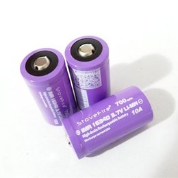 2019 батарейки для элементов питания 377 100% высокое качество StoveFire фиолетовый 16340 аккумулятор 700mAh 10A литиевая батарея для цифровых камер и лазерных прицелов и других элек