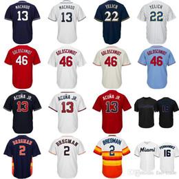 13dfd1a5f Atlanta 13 Ronald Acuna Jr. Braves Jersey Acuña 2019 Alternate Cool Base  Houston  2 Alex Bregman Astros Baseball Jerseys Embroidery Logos alex  bregman ...