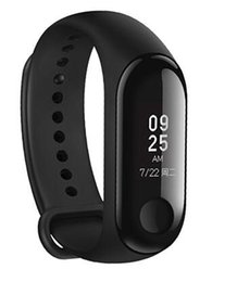 Canada Xiaomi miband 3 mi band 3 Moniteur de fréquence cardiaque Tracker Fitness 0.78 '' OLED Display pour Android IOS Offre