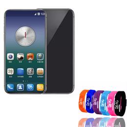 2019 tarjetas sim francesas goophone xs Max teléfono celular inalámbrico Face ID Fingerprint 1GB16GB Mostrar 4Glte Android real 3G desbloqueado