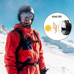 RUNACC Erkekler Kadınlar Kayak Gözlükleri Anti-sis Kar Gözlüğü Anti-Uv Snowboard Rüzgar Geçirmez Güvenlik Gözlükleri nereden