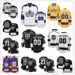 roi personnalisé Promotion Coutume Hommes Femmes Jeunesse Los Angeles Anze Kopitar Jonathan Quick Drew Doughty Dustin Brown Dion Phaneuf Adrian Kempe Kings Chandails de hockey