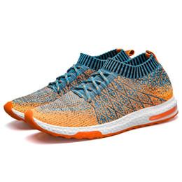 Мужская летняя обувь онлайн-2019 New Breathable Mesh Summer Men Casual Shoes Slip On Male Fashion Footwear Slipon Walking Unisex Couples Shoes Mens Colorful