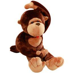 Grande enorme gigante La scimmia pupazzo di peluche regalo 110cm //130cm