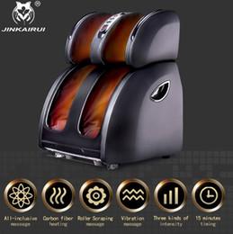 Masaje de calor infrarrojo online-Vibrante eléctrico masajeador de pies de calefacción por infrarrojos de la rodilla de la pierna del becerro del muslo masaje de presión de aire dispositivo de alivio del dolor Massagem