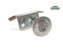 Parti della porta dell'elevatore Nuovo tipo di serratura del pannello della porta a triangolo sinistra / destra / serratura a chiave da