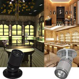 luci led per armadi Sconti DC 12V Under Cabinet Luci LED Mini Downlight con cavo e connettori cablati per illuminazione per scale da scaffale
