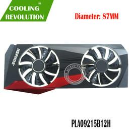 amd processor am3 Sconti PLA09215B12H DC12V 0.55A 4Pin Graphics Ventilatore per Colorful M / N iGame GeForce RTX 2080 Ti RTX 2080 8G GDDR6