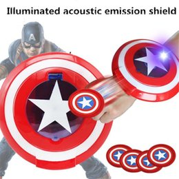 escudo de maravilha Desconto Marvel avengers capitão américa cosplay capitão américa escudo dardos de pulso lançador ao ar livre meninos kid jogos de ginástica presentes c5910