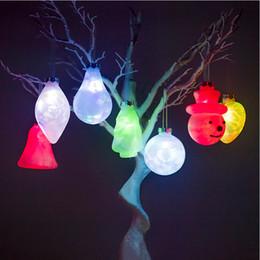 Kreative pvc bunte weihnachtsbeleuchtung farbe licht weihnachtsbaum anhänger tropfen weihnachtsmann glocke hirsch verfügbar von Fabrikanten