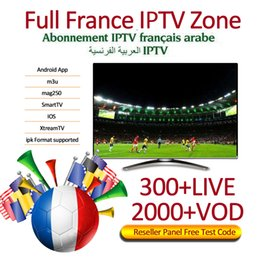 tvs usa Promo Codes - France IPTV Subscription For Android TV BOX Europe USA Canada Arabic Italy Germany UK IPTV Support m3u mag box 6000 Live channels + VOD