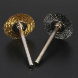 rondelle di piombo Sconti 1pcs 22MM acciaio / filo di rame pennello Drill Buit Per Dremel Rotary Grinder Strumento