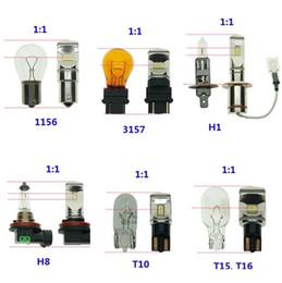 2019 1156 светодиодов Высокая мощность с фишкой csp Автомобильные фары 1350lm Противотуманные фары 1156 1157 7440 7443 3156 3357 Хвост лампы дальнего света DRL Белый 6000K psx26w дешево 1156 светодиодов