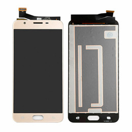 Samsung galaxy j7 black on-line-Tela do Digitalizador de Display LCD para Samsung Galaxy J7 Prime G610 G610F G610M G610Y G610F / DS Peças de substituição Preto