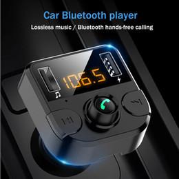audio-promotionen Rabatt Bluetooth Car Kit FM Transmitter Wireless-Radio-Adapter USB-Ladegerät für Telefon