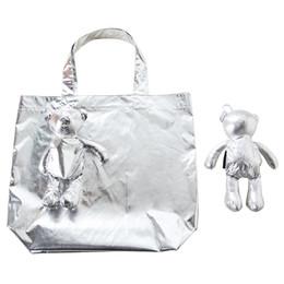 2020 manteau en coton Coton d'ours enduit d'ECO remplissant le sac imperméable à l'eau réutilisable de sac d'épicerie de sac d'épicerie manteau en coton pas cher