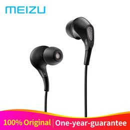 Écouteurs meizu en Ligne-D'origine Meizu Flow Écouteurs In-Ear Headset 3.5mm Écouteurs Triple Driver Hybride Dynamique avec Microphone Pour Meizu Pro7