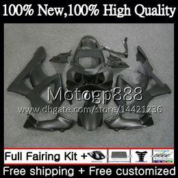 Honda cbr 929 rr verkleidungen online-Karosserie für HONDA CBR900 RR CBR 929RR CBR 900RR CBR929RR 00 01 54PG8 Mattschwarz CBR 929 RR CBR900RR CBR929 RR 2000 2001 Verkleidung Karosserie