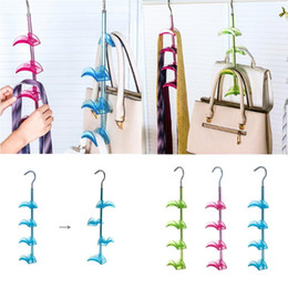 Cachecóis w on-line-Hook Home Accessors Hooks Metal Hook Handbag Hanger Closet Organization Storage Holder For Scarves Sucção Cup Crochet # W