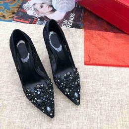 Canada mode nouvelles femmes habillent chaussures à talons hauts Décoration colorée style classique Chaussures habillées et élégantes pour dames cheap fashionable decoration Offre