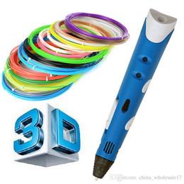 stylo d Creative Creative 3D Stylos Intelligence Dessin 3d stylo d'imprimante Avec ABS Filament 3D Meilleur Cadeau pour Enfants Imprimante ? partir de fabricateur