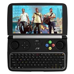tablette pc quad kern intel Rabatt GPD WIN 2 Gamepad Tablet PC Intel Core m3-7Y30 Quad Core 6.0 Zoll 1280 * 720 Windows-10 8GB RAM 128 GB ROM SSD - Schwarz