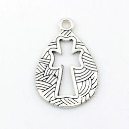 Colgantes de ángel hueco online-Hollow Angel Charms colgantes de aleación de joyería DIY Fit pulseras collar pendientes 100 unids / lote plata antigua 19.5x30.5 mm A-487