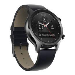 2019 huawei u8 AMOLED XIAOMI Youpin TicWatch C2 24H رصد معدل ضربات القلب NFC جوجل الدفع 512MB + 4GB واي فاي GPS 1.3inch العرض IP68 للماء ووتش الذكية C7