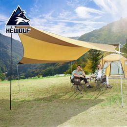 2019 car canopy Tent Outdoor Car Sun Shelter Chuva Toldo Canopy Pergola protetor solar Super Grande Canopy pano Camping Pára-sol Jardim Waterproof car canopy barato