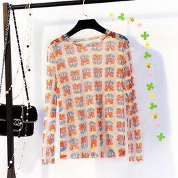 mädchen sehen durch tops Rabatt Beste Verkaufstrends Kawaii Neue Süße T-shirts Mädchen Oansatz Blume Mesh Durchsichtig Top Hitzewellenschutz Lustige T-shirts Sonnenschutz Sommer Tops