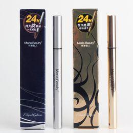 coole schwarze stifte Rabatt Make-up Liquid Eyeliner wasserdicht Anti-Schweiß 24H lang anhaltend Cool schwarz schnell trocknend Eyeliner Stift Professional Eye Make-up